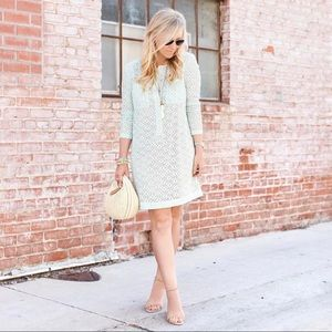 NWT Victoria Beckham for Target Green Lace Dress S